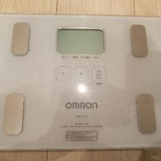 [ジャンク品]オムロン体重計