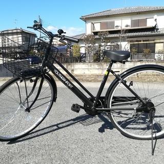 新品同様☆定価21384円☆クロスバイク☆自転車☆27インチ☆黒...