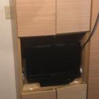 ディノスの壁面収納(7) R奥行44配線隠せる壁面PCデスク幅58...