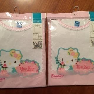 【新品未使用】Hello Kitty三分袖下着シャツ