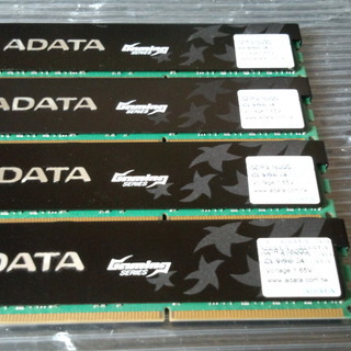 DDR3 1600 ADATA GamingSeries 4GB×...