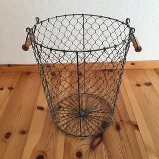 ワイヤーバスケット アンティーク