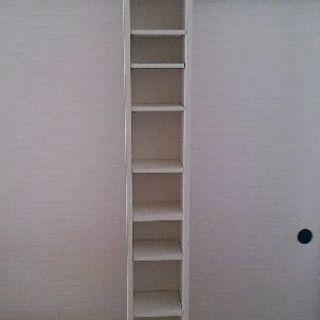IKEAの白い本棚差し上げます - 家具