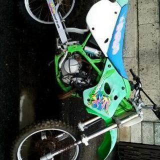 KX80II Kawasaki レストアベース 部品取り