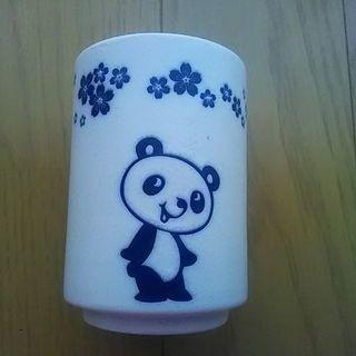 パンダと桜柄の湯呑み♪