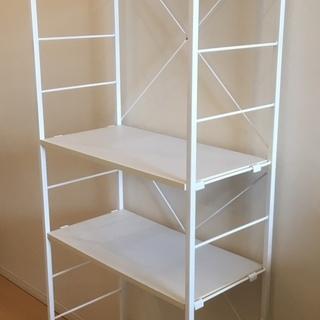収納ラック(ホワイト) - 家具