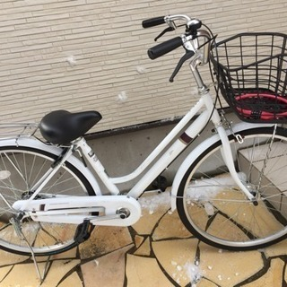 中学生・高校生へ 26型自転車譲ります(H29.4月~半年間のみ使用)