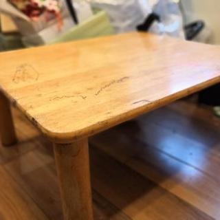 ★無料★こたつテーブル*座卓*リビングテーブル - 家具