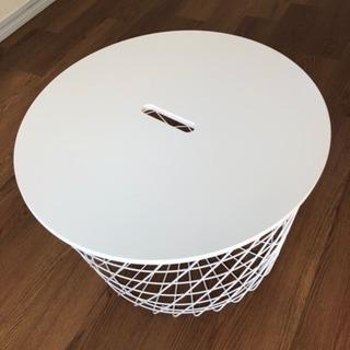 IKEA デザインローテーブル(収納付き)
