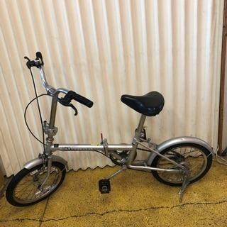 折りたたみ自転車 16インチ 1.75