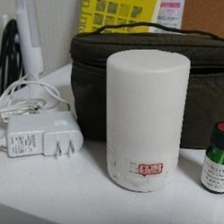 無印良品 コンパクト超音波アロマディフューザー PD-SD1 説明書/ケース付の画像