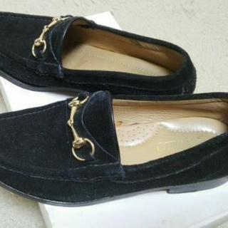 革靴(8)ブラジル製SAMELLOの木製ソールのビットローファー...