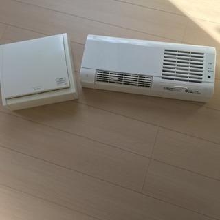洗面所暖房機