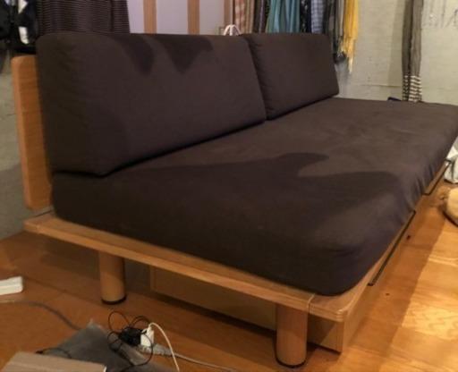 ベッド 無印 ソファ