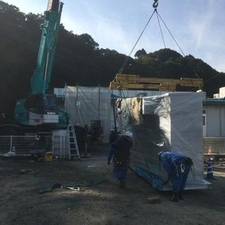 仙台でとび土工解体作業員(宿舎有り)