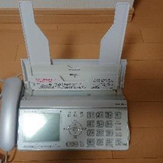 固定電話 FAXとコピー機能付き パナソニック
