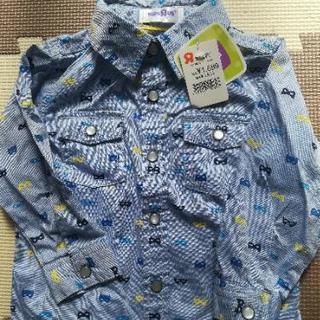 【 未使用】ベビザらス購入80cmシャツ