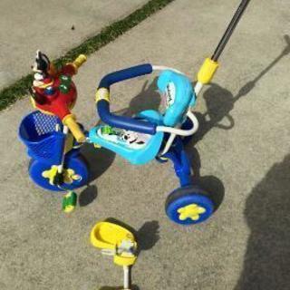 ミッキーマウス 三輪車