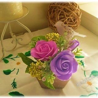 クレイ(粘土)の花&中国結びをつくろう!【体験教室】