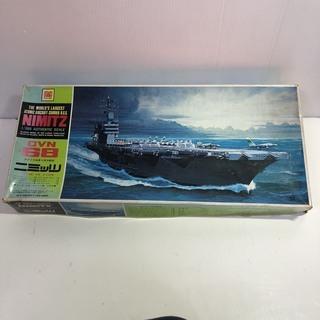 ■希少 新品 オオタキ OTAKI 1/800 ニミッツ CVN68