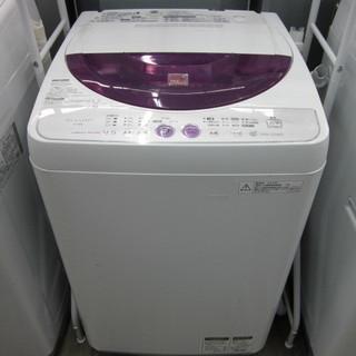 全自動洗濯機 SHARP 4.5Kg ES-45E8 2012年製