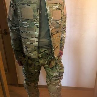 サバゲー用の迷彩柄の服