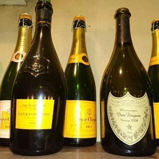 シャンパン空き瓶