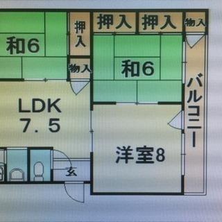 3LDK!賃料管理費込60000円!!神戸市中央区!