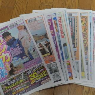 古~い!『釣り新聞ほっかいどう』10月号たくさん ※中古