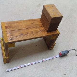 船釣り用ロッドホルダー補助具を自作しました。