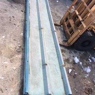 屋根材 折半屋根 3600×750 8枚セット プレハブ屋根材料 DIY
