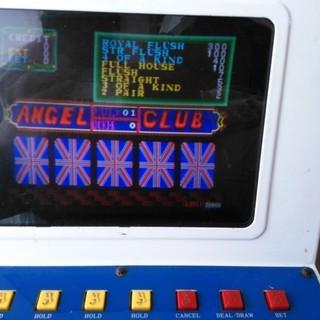 100円硬貨専用 ANGEL CLUB 卓上型ポーカーゲーム機 値...