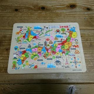 日本地図の知育パズル