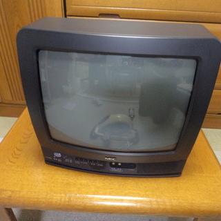14インチのアナログ・テレビ