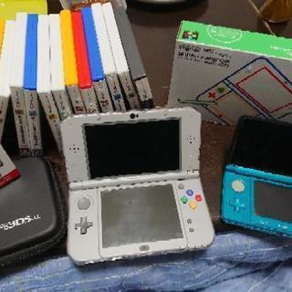 3DS本体 3DSLL本体(完全受注生産) ソフト14本