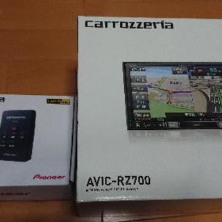 カロッツェリアナビ AVIC-RZ700+ND-DVR1ドライブ...