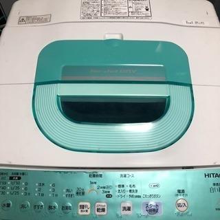 全額返金保証つき‼️HITACHI✨7kg洗濯機💗即日配送🙇の画像