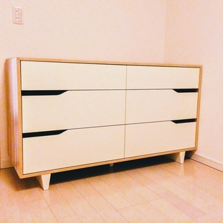 IKEA MANDAL チェスト・タンス 引き出し×6
