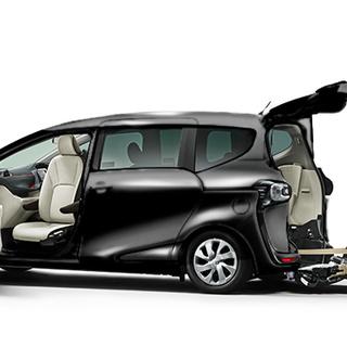 ◆高齢者や身障者に好評◆車いすのまま乗れるタクシー