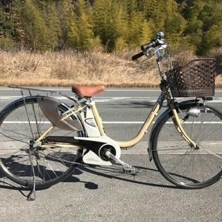 電動自転車 パナソニック viviEX 大容量8ah アイボリー