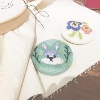 【刺繍カフェ】3/29(木) 刺繍好き集まれ〜!の日 第3回