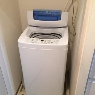 【受け渡し予定者あり】2016年 ハイアール全自動洗濯機 4.2kg