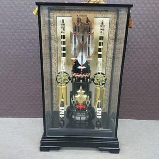 五月人形 嵐山 寿慶 御破魔弓飾