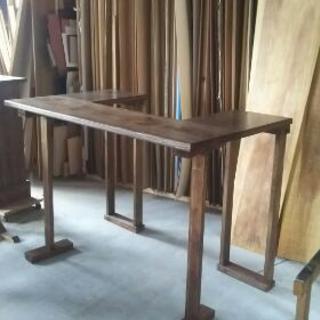 カウンターテーブル テーブル ウォールナット 木製