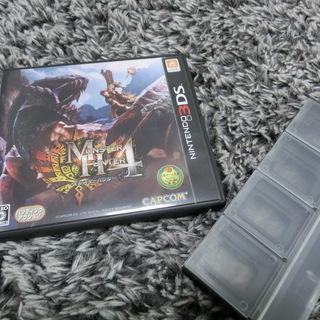 任天堂 3DS モンスターハンター4ソフト おまけ付き