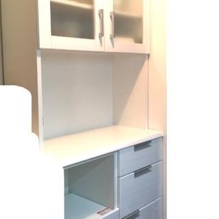 食器棚 ニトリ 白 ホワイト