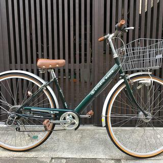 普通の自転車 26インチ 6段ギア