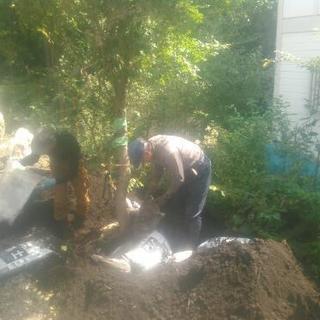 軽井沢での造園や、嬬恋村での植木管理のお手伝い
