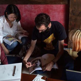 子供も通える、アメリカ人講師から習うスケッチの基礎と水彩画