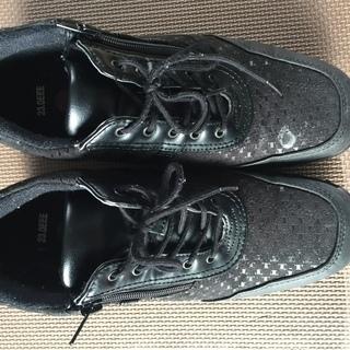 冬物滑りにくい靴(黒)